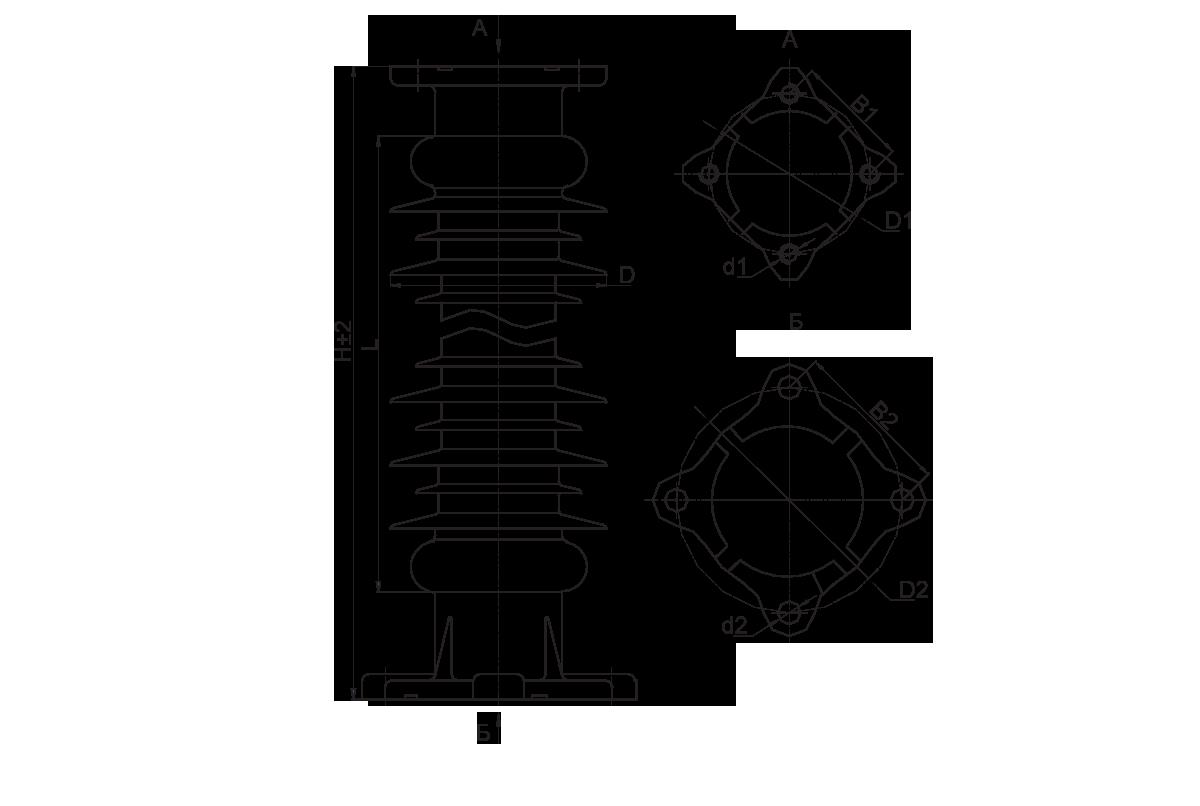 Опорные изоляторы 3 5 кв внутренние